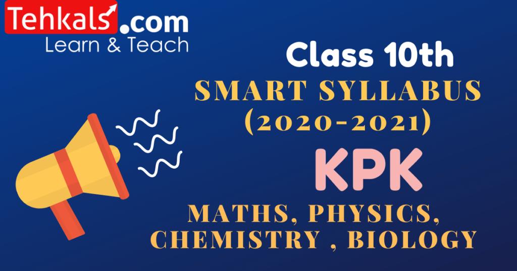 class 10 smart syllabus